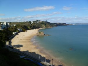 North beach Tenby Only 15 minutes from Cresswell for your 2021 camping holiday
