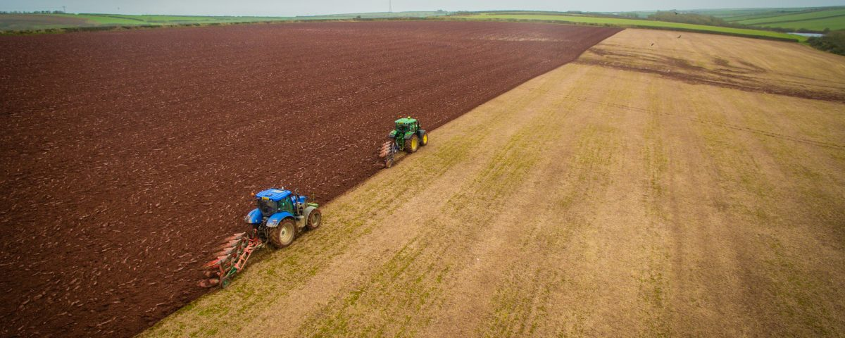 Ploughing in Pembrokeshire