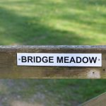 Farm gate to Bridge Meadow
