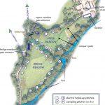 Cresswell Barn Farm Campsite map