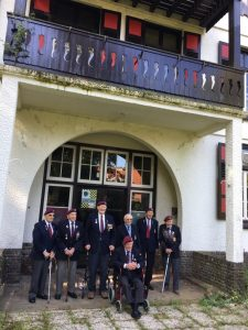 Veteran Glider Pilots in Arnhem
