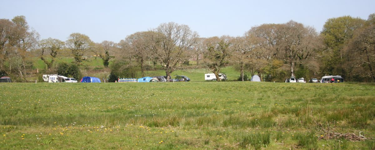 Easter Campers at Bridge Meadow
